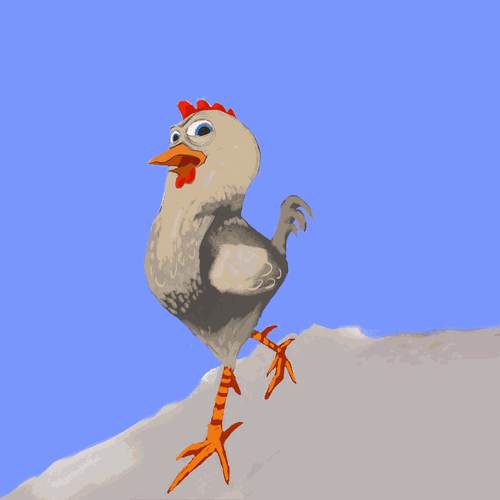 Chicken Illustration