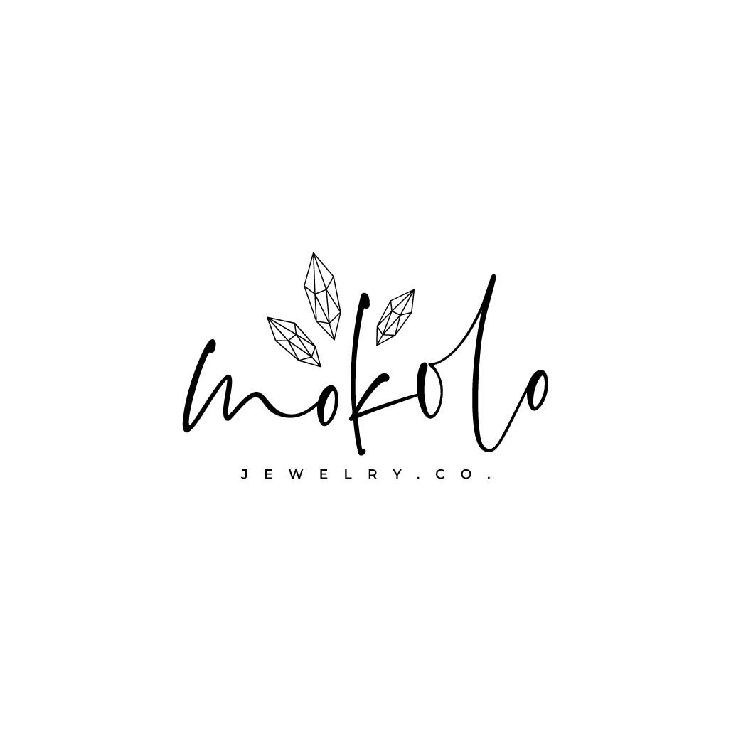 Mokolo Jewelry needs a chic feminine eye catching logo