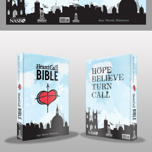 Help Jaye Martin Ministries with Bible cover