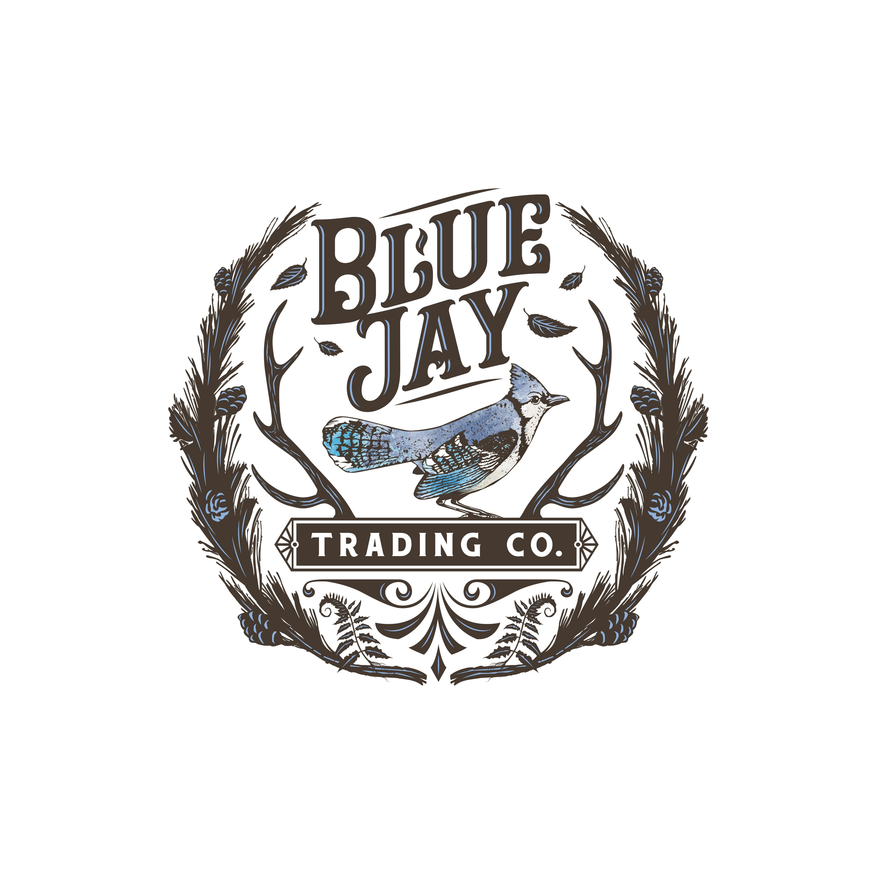 Design an amazing Blue Jay in memory of our pops for a vintage barn store