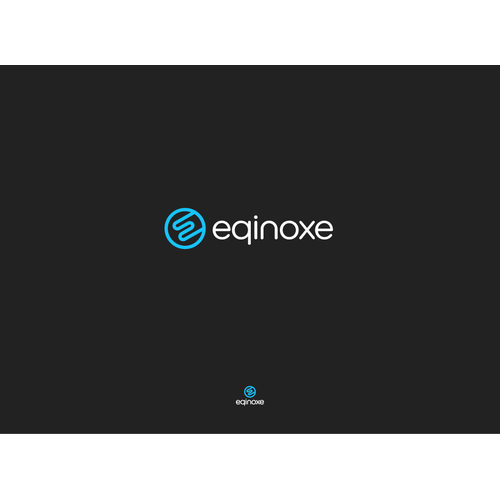 Logo design for eqinoxe
