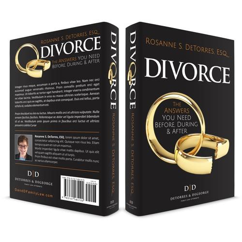 Book Cover Design concept for DIVORCE