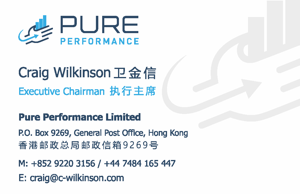 Pure Performance Business Card