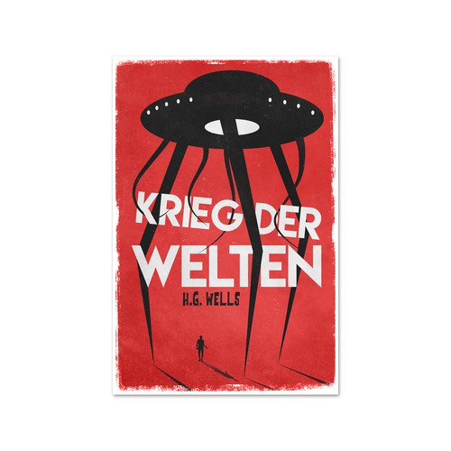 'War of the worlds' book cover