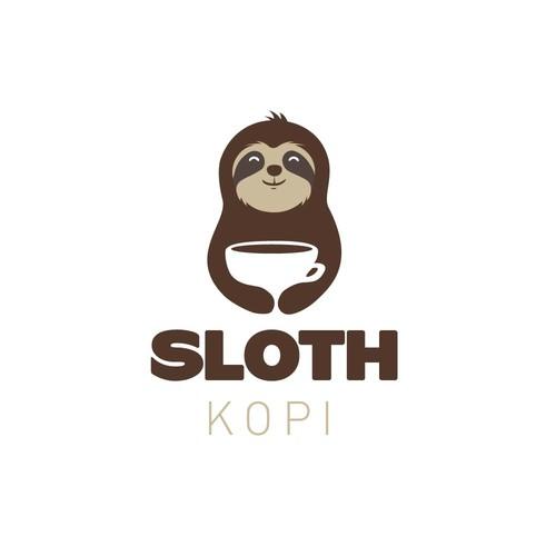 Sloth Kopi Logo