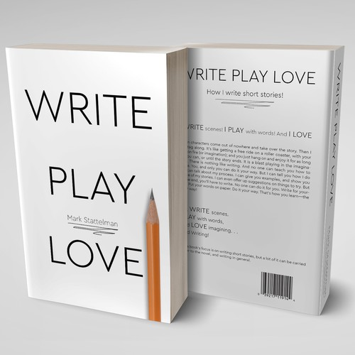 Simple design for the book cover