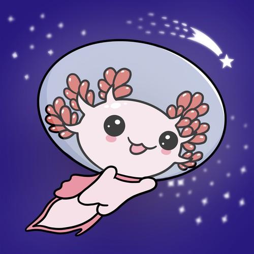 Axelotl mascot