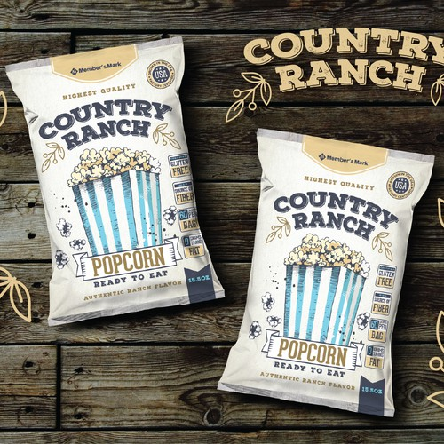 Country Ranch popcorn