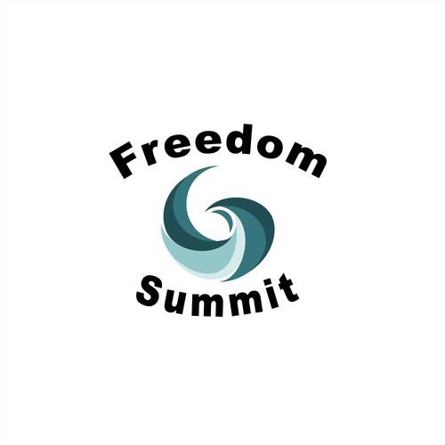 Freedom Summit Logo Design