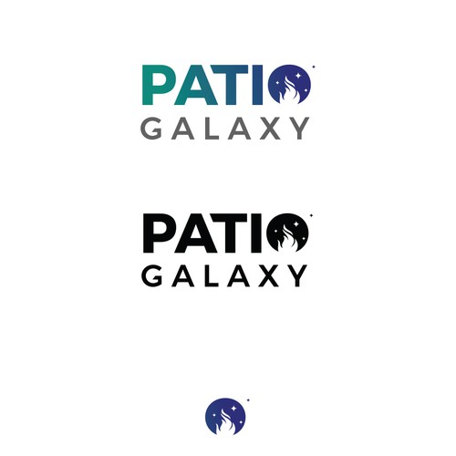 Logo design for Patio Galaxy