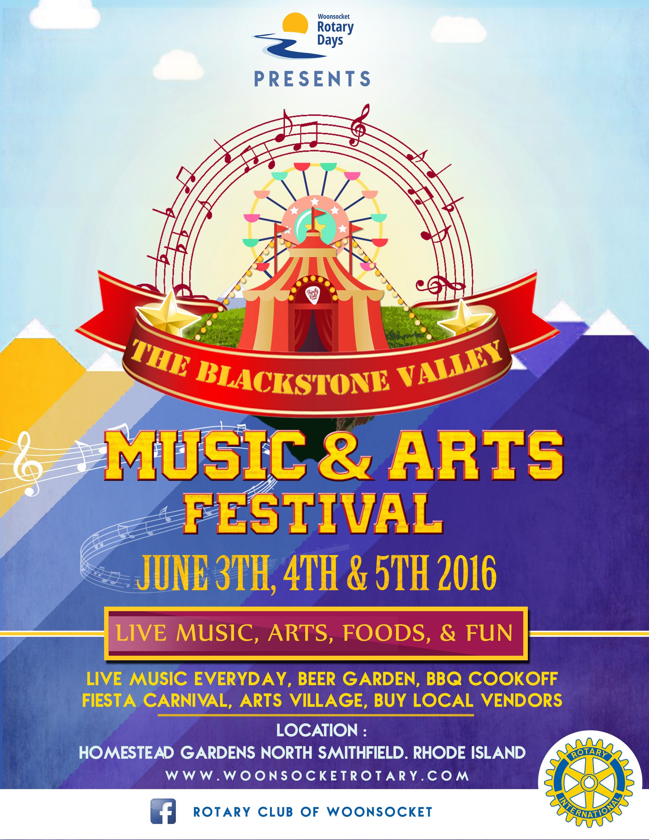 Blackstone Valley Music & Arts Festival
