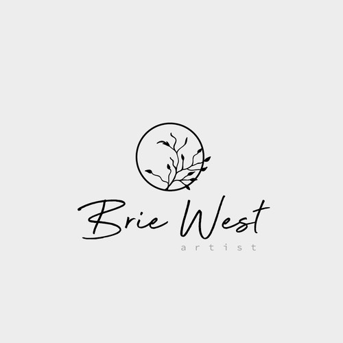 Logo for artist Brie West