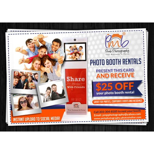 PMB PHOTOGRAPHY post card