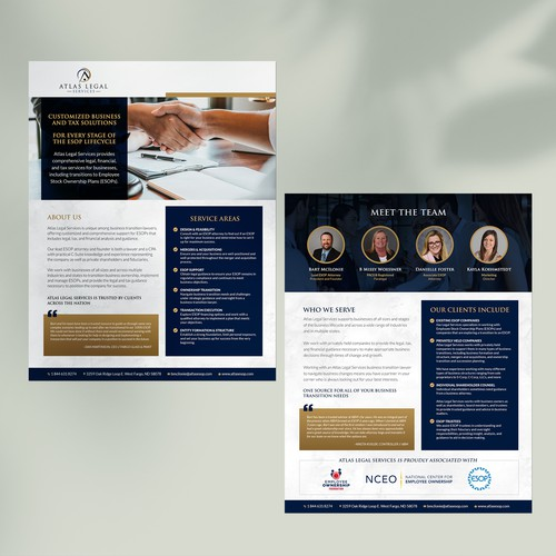 2 Page Flyer