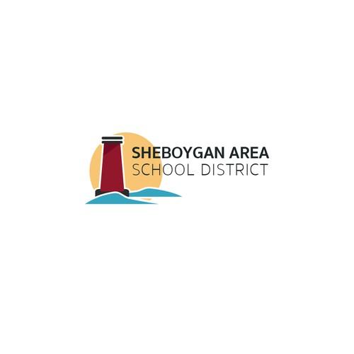 School District Logo design concept