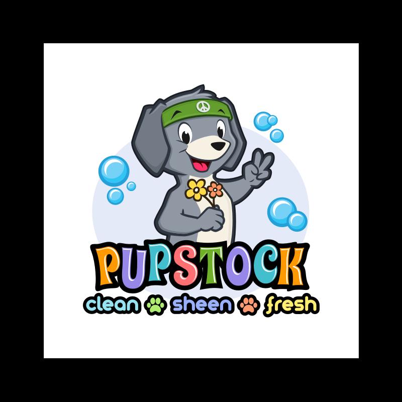 Logo Hippie dog