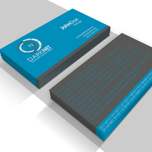 Create a new business logo and card for a network engineeringconsulting company