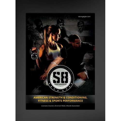 Direct Action Flyer for Professional Strength & Conditioning, Speed Training and Soccer Performance