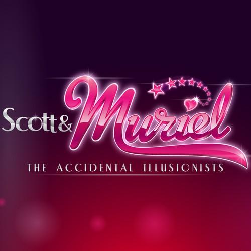 World Champion illusionists Scott & Muriel need a new logo!