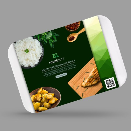 Food tray packaging