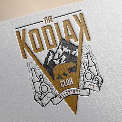 Create logo for The Kodiak Club,  popular Melbourne bar