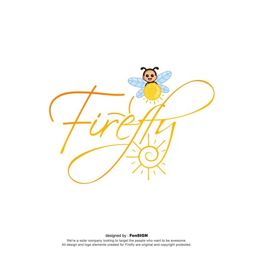Firefly typography and mascots