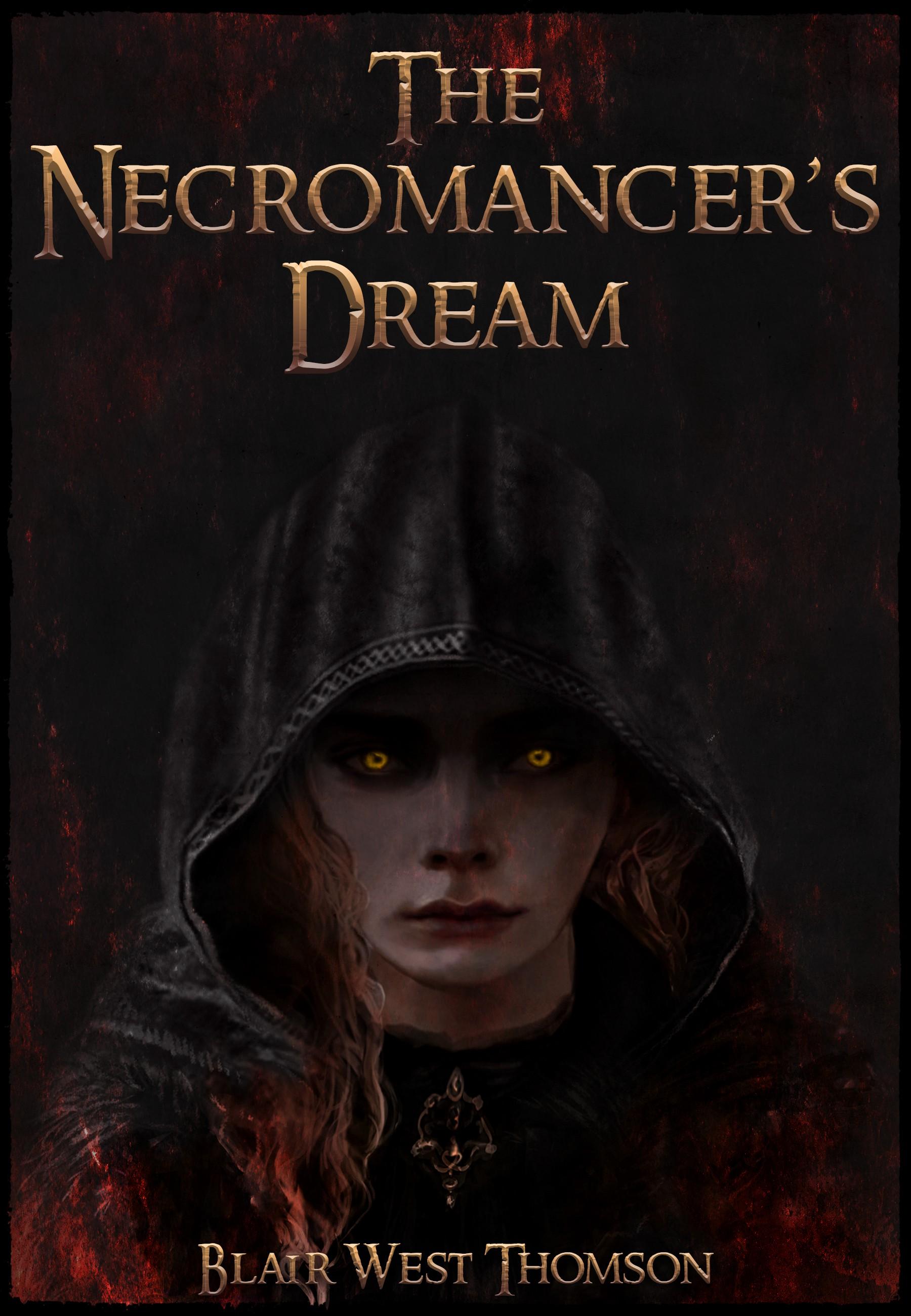Book cover: Necromancer's Dream Ebook and paperback