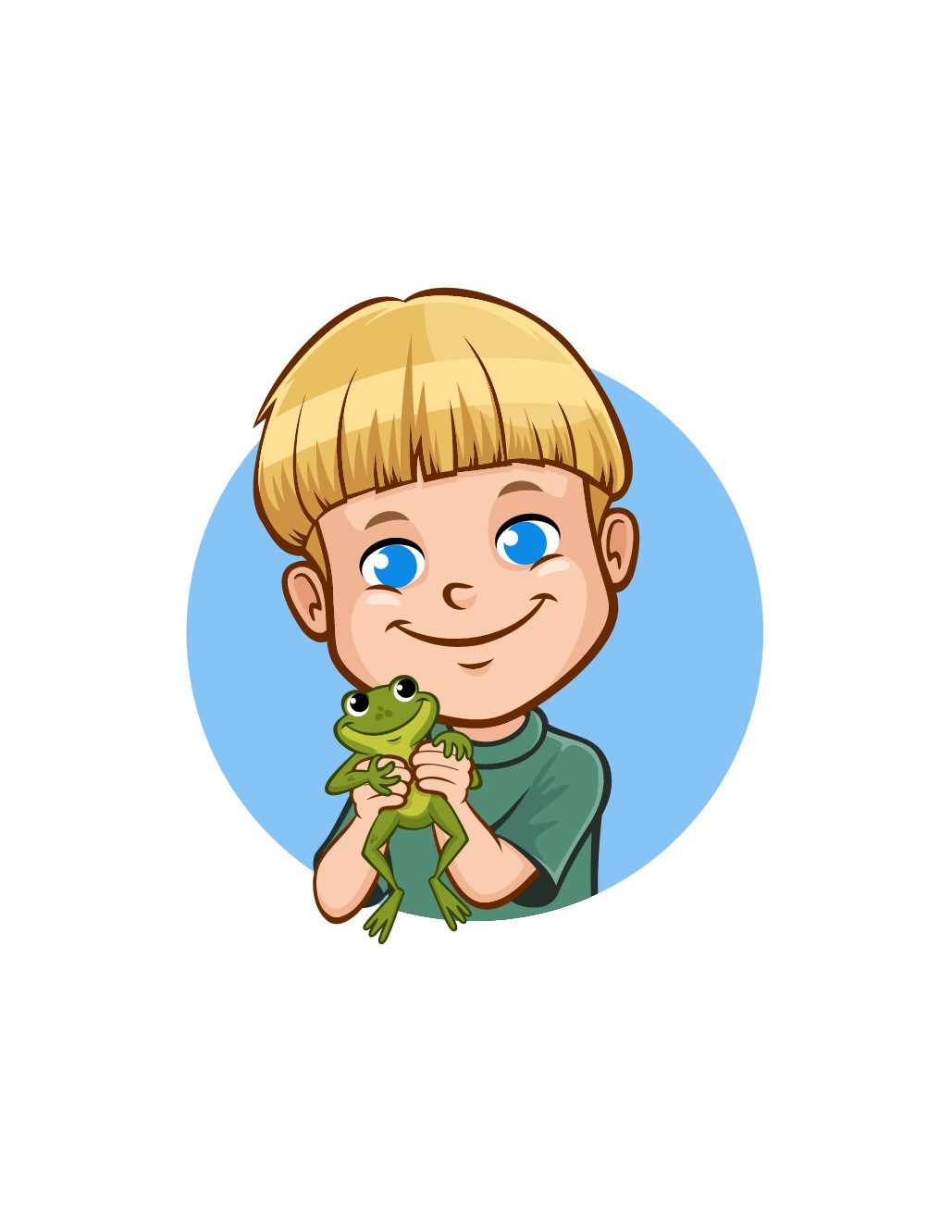 Invincible Toad, Inc. : Sweet cartoon styled Logo