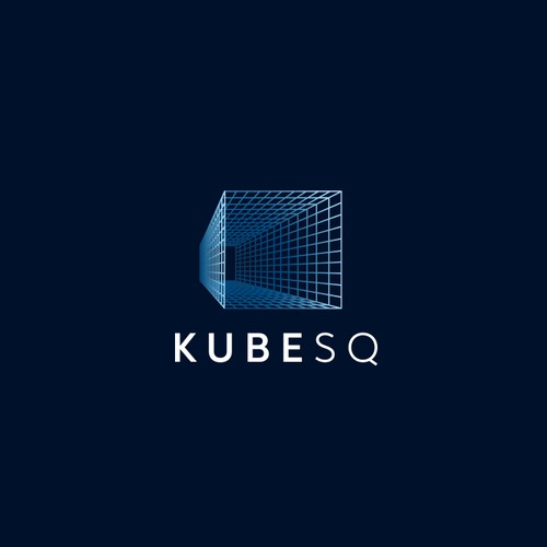 modern and sophisticated logo with futuristic nuances