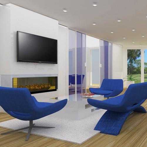 3D Lobby design