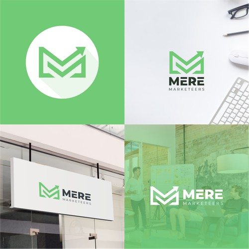 Logo concept for Mere Marketeers