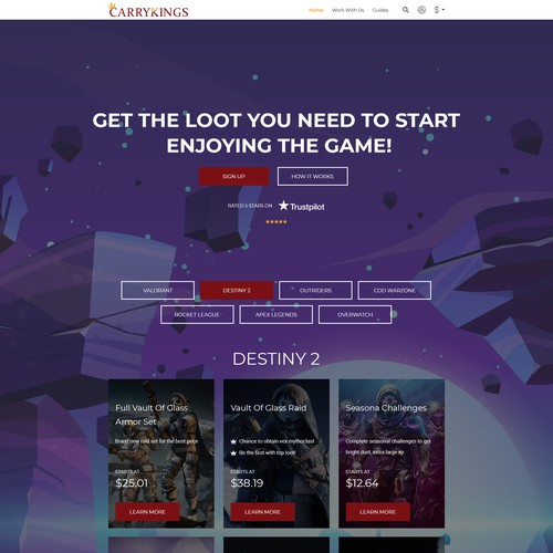 Video Game Boosting Store