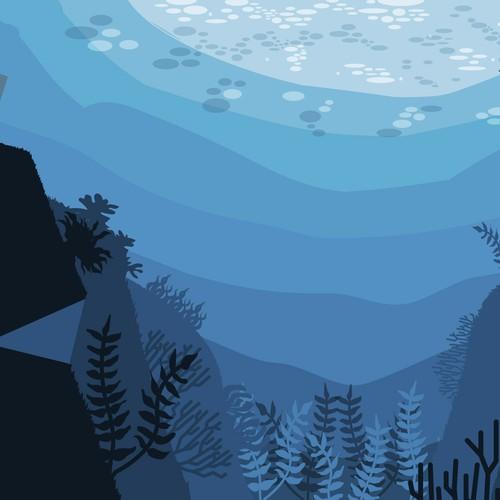 Illustration underwater