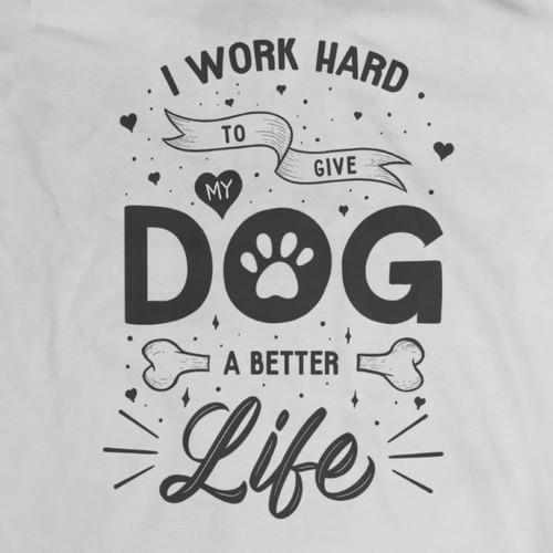 T-shirt Design for Dog Lovers