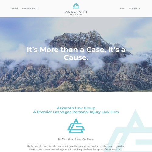 Askeroth Law Group | Website for a Law Firm