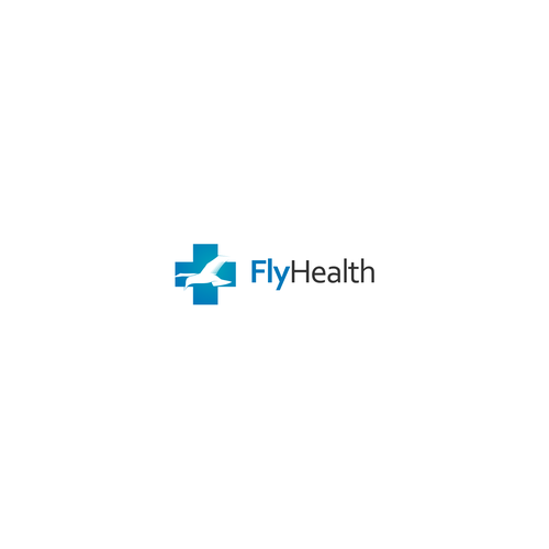 logo concept for FlyHealth
