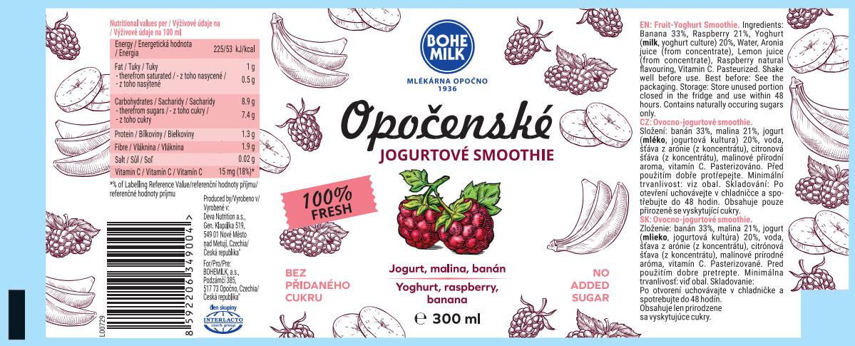 Bohemilk Yoghurt Smoothie 300 ml