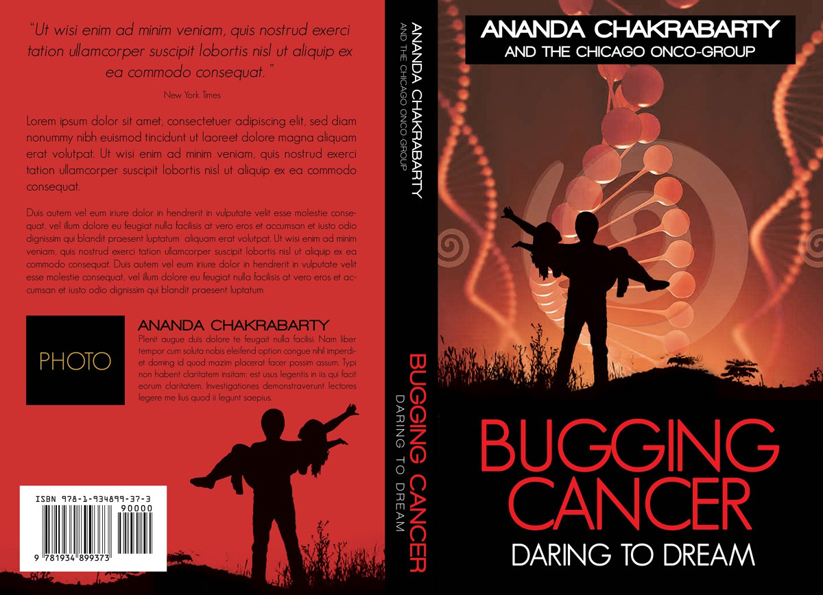 Book cover for biotech fiction -- going to be a bestseller!