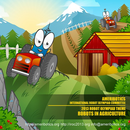Create an awesome illustration: Robots in Agriculture!
