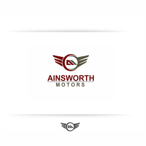 Help AINSWORTH MOTORS with a new logo