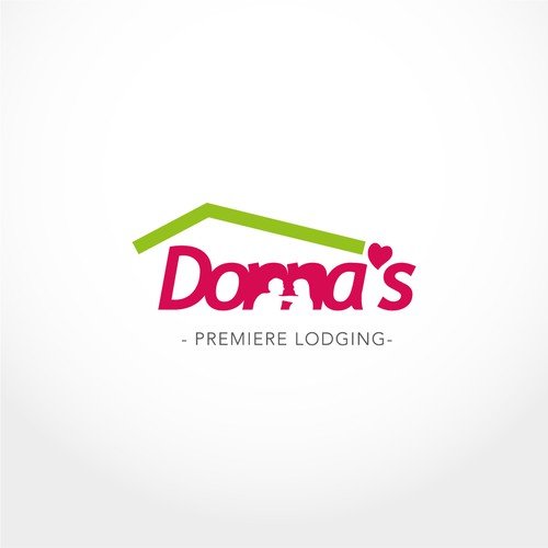 Logo proposal for Donna's Premiere Lodging