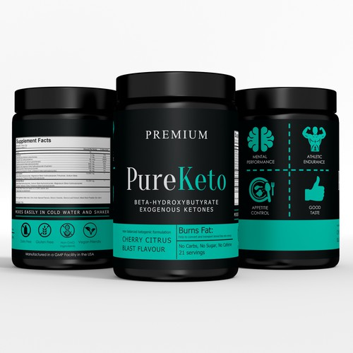 Pure Keto label