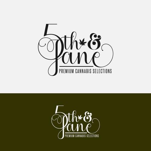 5th & Jane - A Premium Cannabis Logo Concept