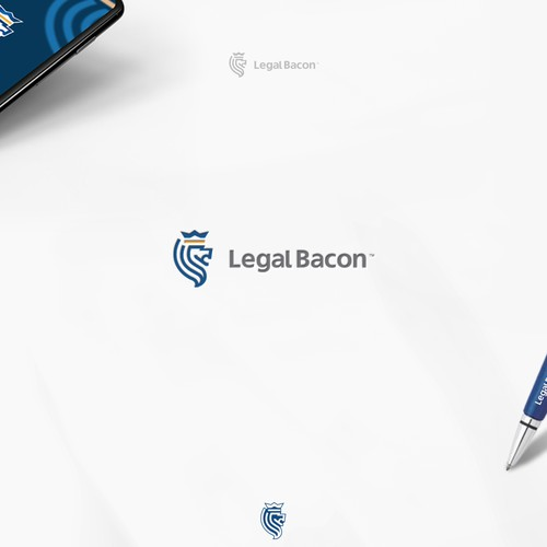 Bold Logo for Legal App