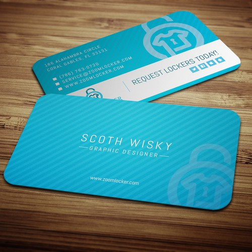 ZoomLocker Business Cards