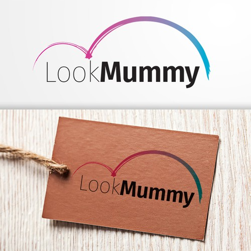 Logo for Look Mummy brand