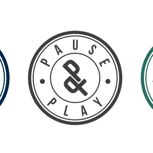 Minimalist Logo for Pause&Play