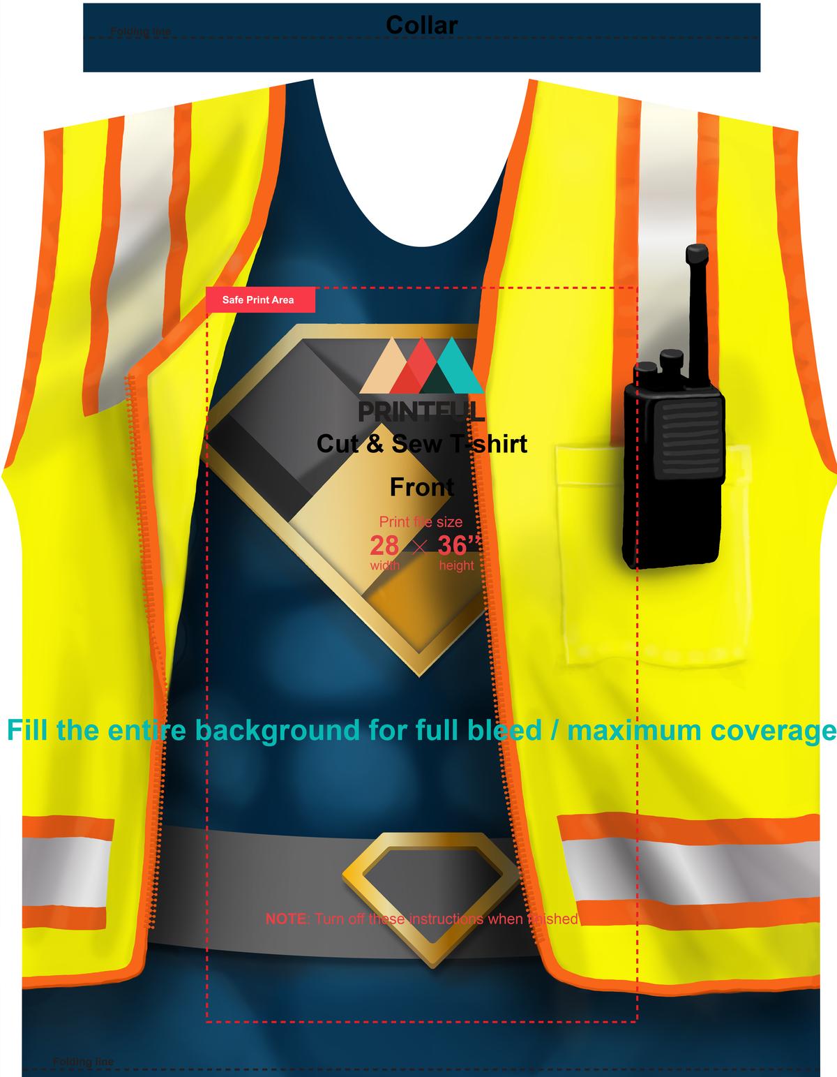 Superman in Safety Vest