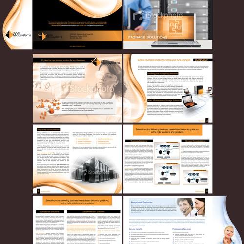 Brochure design for Apex Microsystems