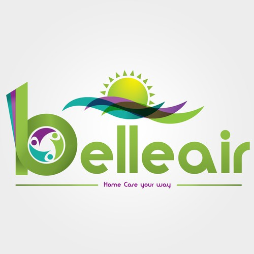 Logo Design for Belleair, a home care company